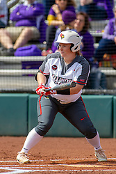 NORMAL, IL - April 06: Riley Hale during a college women's softball game between the ISU Redbirds and the University of Northern Iowa Panthers on April 06 2019 at Marian Kneer Field in Normal, IL. (Photo by Alan Look)