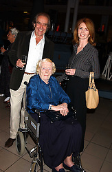 MR GERALD SCARFE and his wife JANE ASHER with her mother MARGARET ASHER at the opening of the exhibition 'Lawrence of Arabia: The Life, The Legend' at the Imperial War Museum, Lambeth Road, London SE1 on 11th October 2005.<br /><br />NON EXCLUSIVE - WORLD RIGHTS