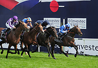 Flat Horse Racing - 2019 Investec Derby Festival - Saturday, Day Two (Derby Day)<br /> <br /> Photo finish for second, third , fourth and fifth in the 16 : 30 Investec Derby stakes, at Epsom Racecourse.<br /> <br /> COLORSPORT/ANDREW COWIE
