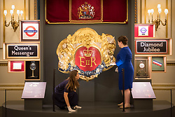 Embargoed to 0001 Friday July 21<br /> A display of gifts presented to Queen Elizabeth II throughout her 65 year reign on show during a preview for the Royal Gifts exhibition, which is part of the annual Summer Opening of the State Rooms at Buckingham Palace, London.