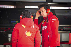 February 18, 2019 - Barcelona, Spain - BINOTTO Mattia (ita), Team Principal & Technical Director of the Scuderia Ferrari, portrait during Formula 1 winter tests from February 18 to 21, 2019 at Barcelona, Spain - Photo Motorsports: FIA Formula One World Championship 2019, Test in Barcelona, (Credit Image: © Hoch Zwei via ZUMA Wire)