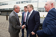11/07/2017  REPRO FREE:    Mr George McCourt  Head of innovation GMIT and Minister of State Pat Breen, Department of Enterprise and Innovation,  on a visit to the iHub and GMIT . Photo:Andrew Downes, xposure .