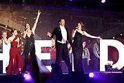 Bevrijdingsconcert - 5 mei-concert op de Amstel, Amsterdam. // Liberation Concert - 5 May concert on the Amstel<br /> <br /> Op de foto:   Maan, Willemijn Verkaik, CB Milton, Bastiaan Everink en Noa Wildschut
