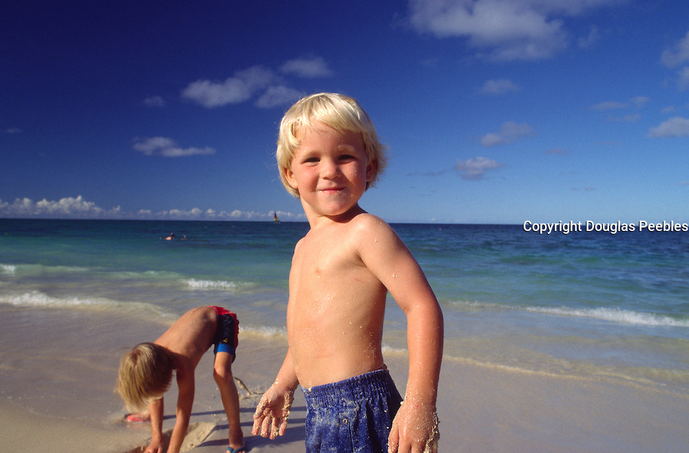 Kids on beach<br />