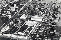 1921 Aerial of William Fox Studios in Hollywood