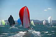 Saturday Yacht Racing on Lake Macquarie, NSW, Australia