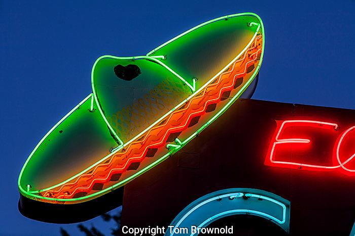 Restaurant Neon, Flagstaff, AZ.