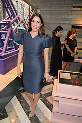 JESSICA DE ROTHSCHILD at the opening of Roksanda - the new Mayfair Store for designer Roksanda Ilincic at 9 Mount Street, London on 10th June 2014.