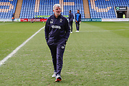 Glynn Hodges Wimbledon Assistant Manager arriving  during the EFL Sky Bet League 1 match between Shrewsbury Town and AFC Wimbledon at Greenhous Meadow, Shrewsbury, England on 2 March 2019.