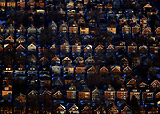 Aerial shots of Chicago homes on Tuesday January 19, 2010.<br /> <br /> (William DeShazer/Chicago Tribune)<br /> <br /> 00315278A