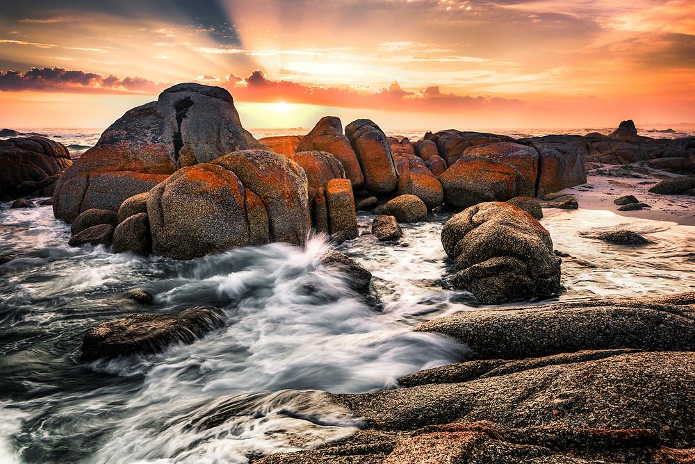 Deep Creek <br /> Mount William National Park<br /> Bay of Fires, Tasmania