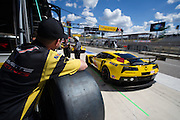 September 19, 2015: Tudor at Circuit of the Americas. #4 Oliver Gavin, Tommy Milner, Corvette Racing C7.R GTLM