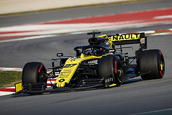 February 21, 2019 - Barcelona Barcelona, Espagne Spain - HULKENBERG Nico (ger), Renault Sport F1 Team RS19, action during Formula 1 winter tests from February 18 to 21, 2019 at Barcelona, Spain - Photo  Motorsports: FIA Formula One World Championship 2019, Test in Barcelona, (Credit Image: © Hoch Zwei via ZUMA Wire)