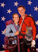 America's top climbing couple, Tommy Caldwell and Beth Rodden.
