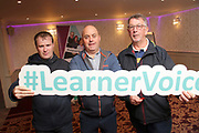 Attending The National FET Learner Forum Regional Meeting in the Abbey Hotel, Roscommon on Wednesday were Thomas Keaveney and Padraig Casey Boyle BOC with Joe Cribbin Ballyleague Mens Shed.. Photo:- XPOSURE.IE