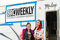 BRC Weekly - Reading BRC Weekly is always such a treat and so on point. It was wonderful to meet you! Read it here: https://brcweekly.com - https://Duncan.co/Burning-Man-2021
