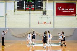 ?layers during basketball match between ZKK Triglav Kranj and ZKD Maribor in Round #1 of 1. Slovenian Woman basketball league, on February 20, 2018 in ŠD Planina, Kranj, Slovenia. Photo by Ziga Zupan / Sportida