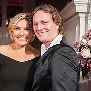 NLD/Amsterdam/20131111 - Beau Monde Awards 2013, Gallyon van Vessem en partner Greg de Jong