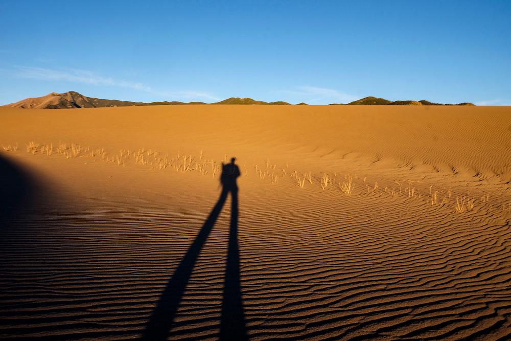 My shadow is never far away.