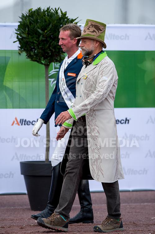 Frank Hosmar and Alphaville bronze in the individual test grade IV - Individual Test Grade IV Para Dressage - Alltech FEI World Equestrian Games™ 2014 - Normandy, France.<br /> © Hippo Foto Team - Jon Stroud <br /> 25/06/14