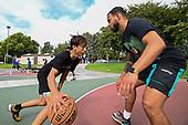 High School Basketball-Orange Lutheran Workout-Aug 6, 2020
