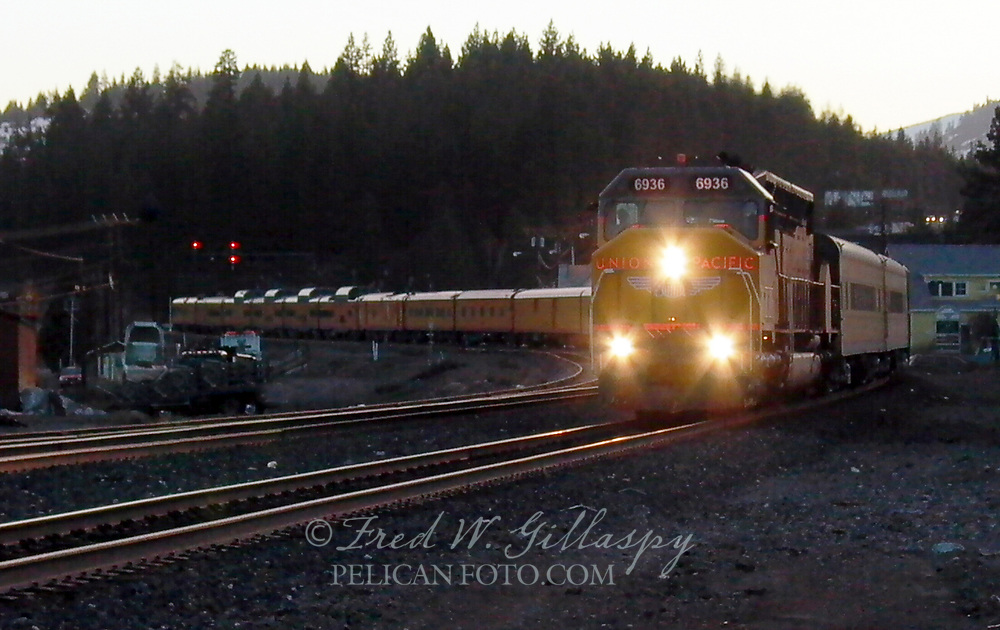 Union Pacific 6936 Eastbound Through Truckee California