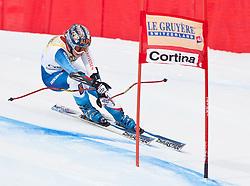 21.01.2011, Tofana, Cortina d Ampezzo, ITA, FIS World Cup Ski Alpin, Lady, Cortina, SuperG, im Bild Dominique Gisin (SUI, #8) // Dominique Gisin (SUI) during FIS Ski Worldcup ladies SuperG at pista Tofana in Cortina d Ampezzo, Italy on 21/1/2011. EXPA Pictures © 2011, PhotoCredit: EXPA/ J. Groder