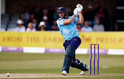 Yorkshire's Tim Bresnan during the One Day Cup, Quarter Final at the Cloudfm County Ground, Essex. PRESS ASSOCIATION Photo. Picture date: Thursday June 14, 2018. See PA story CRICKET Essex. Photo credit should read: John Walton/PA Wire. RESTRICTIONS: Editorial use only. No commercial use without prior written consent of the ECB. Still image use only. No moving images to emulate broadcast. No removing or obscuring of sponsor logos.