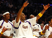 NBA-Sacramento Kings at Los Angeles Lakers-Apr 1, 2007