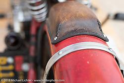 Go Takamine's Indian Chout custom in the RSD Moto Beach Classic custom bike show. Huntington Beach, CA, USA. Saturday October 27, 2018. Photography ©2018 Michael Lichter.