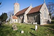 Hasketon Saint Andrew parish church, Hasketon, Suffolk, England