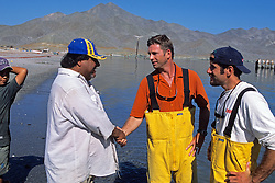 J. & Hoyt With Shark Fisherman