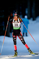 Tina Bachmann of Germany during the Women 15 km Individual of the e.on IBU Biathlon World Cup on Thursday, December 16, 2010 in Pokljuka, Slovenia. The fourth e.on IBU World Cup stage is taking place in Rudno Polje - Pokljuka, Slovenia until Sunday December 19, 2010.  (Photo By Vid Ponikvar / Sportida.com)
