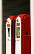 Image of an old gas station at Cannon Beach, Oregon, Pacific Northwest by Randy Wells