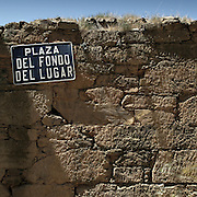 Street sign in Bierzo area, Leon province . Spain . The WAY OF SAINT JAMES or CAMINO DE SANTIAGO following the French Route, between Saint Jean Pied de Port and Santiago de Compostela in Galicia, SPAIN. Tradition says that the body and head of St. James, after his execution circa. 44 AD, was taken by boat from Jerusalem to Santiago de Compostela. The Cathedral built to keep the remains has long been regarded as important as Rome and Jerusalem in terms of Christian religious significance, a site worthy to be a pilgrimage destination for over a thousand years. In addition to people undertaking a religious pilgrimage, there are many travellers and hikers who nowadays walk the route for non-religious reasons: travel, sport, or simply the challenge of weeks of walking in a foreign land. In Spain there are many different paths to reach Santiago. The three main ones are the French, the Silver and the Coastal or Northern Way. The pilgrimage was named one of UNESCO's World Heritage Sites in 1993. When there is a Holy Compostellan Year (whenever July 25 falls on a Sunday; the next will be 2010) the Galician government's Xacobeo tourism campaign is unleashed once more. Last Compostellan year was 2004 and the number of pilgrims increased to almost 200.000 people.