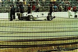 Indianapolis Time Trials, May 1987<br /> #2 Gordon Johncock<br /> <br /> A scan from an old photo or slide from the collection of Alan and Becky Look dated 1987 and 1988.