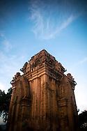 old Po Nagar Cham temple close to Nha Trang, Vietnam, Asia