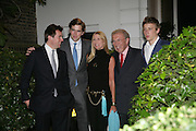 SIR DAVID AND LADY CARINA FROST AND FAMILY, Sir David and Lady Carina Frost annual summer party, Carlyle Sq. London. 5 July 2007  -DO NOT ARCHIVE-© Copyright Photograph by Dafydd Jones. 248 Clapham Rd. London SW9 0PZ. Tel 0207 820 0771. www.dafjones.com.