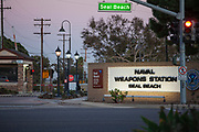 Naval Weapons Station, Seal Beach, Orange County, California, USA