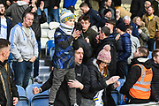 Leeds United fans after the The FA Cup match between Queens Park Rangers and Leeds United at the Loftus Road Stadium, London, England on 6 January 2019.