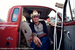 Chatanooga Charlie. Sturgis, SD, 1986<br /> <br /> Limited Edition Print from an edition of 50. Photo ©1986 Michael Lic