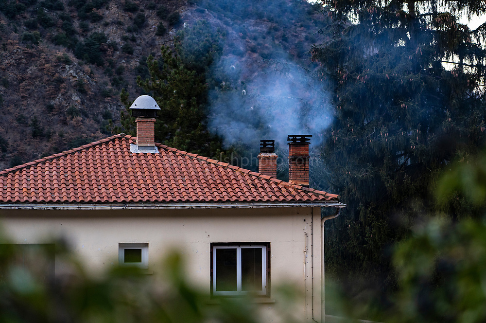 Air pollution from domestic wood burning, France - wood burning leads to 400,000 premature deaths in Europe every year, according to the European Environment Agency.