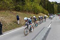Martin Tony - Etixx Quick Step - 28.04.2015 - Tour de Romandie - Etape 01 : Vallee de Joux / Juraparc - CLM Par Equipes<br />Photo : Sirotti / Icon Sport *** Local Caption ***