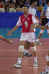 23-09-2000 AUS: Olympic Games Volleybal Joegoslavie - Argentinie, Sydney<br /> Nikola Grbic