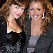 NLD/Amsterdam/20080929 - Pink Ribbon gala 2008, Marly van der Velden en Liza Sips