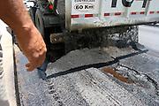 Belo Horizonte_MG, Brasil...Obras de infra-estrutura na BR 040, proximo a cidade de Conselheiro Lafaiete...Works infrastructure in the BR 040, next to Conselheiro Lafaiete city...Foto: LEO DRUMOND / NITRO