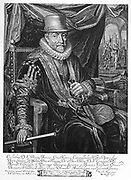 William I, Prince of Orange (1533 - murdered 1584).  His last words were  'my God, have mercy on me and these poor people, a life of sacrifice decided.' He had conducted the war with his own resources from 1568 till 1572.  Then till 1576 with the support of Holland and Zeeland and then until 1579, with the support of all the Dutch Provinces.
