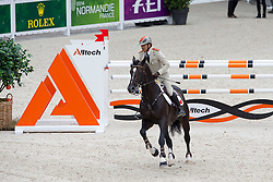 Hassan Jabri, (MAR), Loxy De La Reselle CH - Team & Individual Competition Jumping Speed - Alltech FEI World Equestrian Games™ 2014 - Normandy, France.<br /> © Hippo Foto Team - Leanjo De Koster<br /> 02-09-14