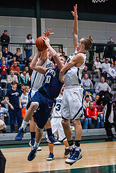 24 January 2009: 99th McLean County - Heart of Illinois Conference Tournament. Ridgeview v Fieldccrest<br /> Championship game.