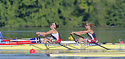 St Catherines, CANADA,   Women's Lightweight Double Sculls. USA LW2X .Christine SMITH - COLLINS and Sarah GARNER. 1999 World Rowing Championships - Martindale Pond, Ontario. 08.1999..[Mandatory Credit; Peter Spurrier/Intersport-images]   ....St Catherines, CANADA,   Women's Lightweight Double Sculls. USA LW2X .Christine SMITH - COLLINS and Sarah GARNER. 1999 World Rowing Championships - Martindale Pond, Ontario. 08.1999..[Mandatory Credit; Peter Spurrier/Intersport-images]   .... 1999 FISA. World Rowing Championships, St Catherines, CANADA